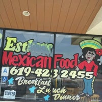 Photo taken at Esthers Mexican Food by Joewe M. on 9/19/2012