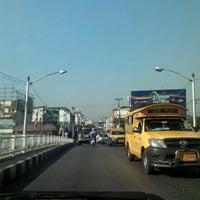 Photo taken at Nakhonping Bridge by Akom J. on 2/8/2013