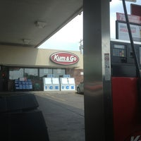 Photo taken at Kum & Go by Stephanie M. on 7/4/2013