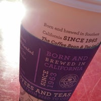 Photo taken at The Coffee Bean & Tea Leaf by Marcie R. on 1/14/2015