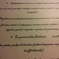Photo taken at La Gourmandise Italienne by Sophie on 10/25/2012