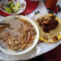 Photo taken at Don Chuy: Birria y Pozole by Andrea M. on 12/14/2013