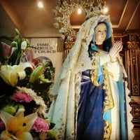 Photo taken at St. Francis of Assisi Parish Church by Mark Kenneth O. on 12/10/2012