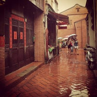 Photo taken at 鹿港老街 Lukang Old Street by Stephen L. on 4/5/2013
