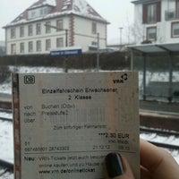 Photo taken at Buchen im Odenwald by Tatiana F. on 12/21/2012