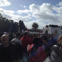Photo taken at Cimetière El Jallaz by Bilel B. on 2/8/2013