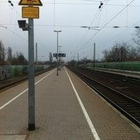 Photo taken at Bahnhof Ladenburg by Torsten L. on 4/8/2013