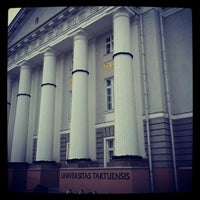 Photo taken at University of Tartu main building by Александр Ц. on 11/26/2012