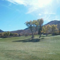 Photo taken at Mountain Dell Golf Course by Matt H. on 10/19/2012