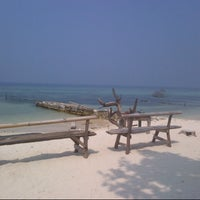 Photo taken at Pulau Tidung by Arum P. on 9/9/2013