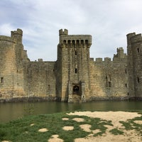 Photo taken at Bodiam Castle by Stephan O. on 5/7/2016