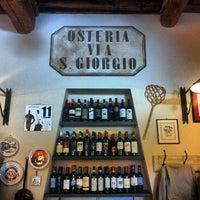 Photo taken at Osteria San Giorgio by vuoto d. on 6/1/2013