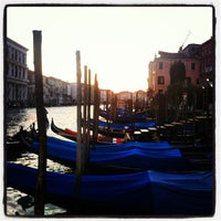 Photo taken at Canal Grande by vuoto d. on 12/29/2012
