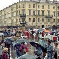 Photo taken at Sennaya Square by Helena B. on 4/11/2013
