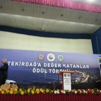 Photo taken at Tekirdağ BB Kültür Merkezi by özkan ö. on 2/16/2013
