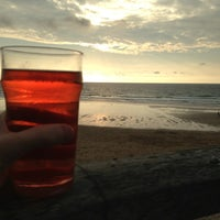 Photo taken at Fistral Beach Bar by Steven S. on 8/27/2013