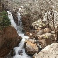 Photo taken at Anthoxori waterfall by Karla on 4/6/2013