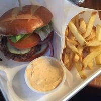 Photo taken at Surf Shack Smash Burgers by Linda P. on 11/10/2014