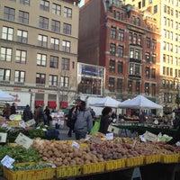 Photo taken at Union Square Greenmarket by Karen H. on 12/3/2012