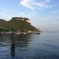 Photo taken at Porto di Garda by Adam B. on 5/31/2017