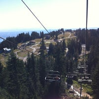 Photo taken at Grouse Mountain by Talita N. on 10/6/2012