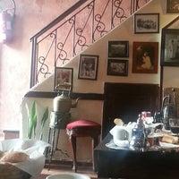 Photo taken at Kafe Sahara by Alexandra I. on 8/14/2014