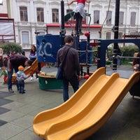 Photo taken at Детская площадка на Покровке by Коля Н. on 7/3/2017