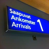 Photo taken at Terminal 1 by Mala S. on 10/30/2012