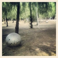Photo taken at Parc del Centre del Poblenou by Hernan C. on 10/21/2012