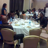 Photo taken at Sheraton Lagos Hotel by Denzel. O. on 3/4/2013