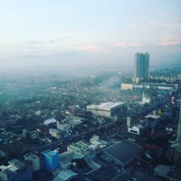 Photo taken at Hotel Santika Depok by Ibad F. on 5/10/2016