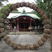 Photo taken at 市谷亀岡八幡宮 by Issei W. on 7/1/2013