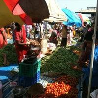 Photo taken at Mapusa Market by Victor K. on 1/25/2013