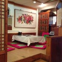 Photo taken at Riverside Korean Restaurant by Nawapan H. on 1/15/2013
