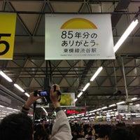 Photo taken at Toyoko Line Shibuya Station (TY01) by Yosuke O. on 3/15/2013