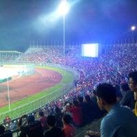 Photo taken at Stadium Negeri by Jordan A. on 12/28/2012