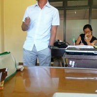 Photo taken at School of Labor and Industrial Relations (SOLAIR), University of the Philippines by Chichi A. on 12/14/2013