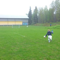 Photo taken at Sörby ip by Christian W. on 5/22/2013