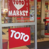 Photo taken at Super Toto Market by Christian W. on 5/15/2013