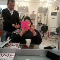 Photo taken at She Coiffeur by Hande A. on 4/26/2014
