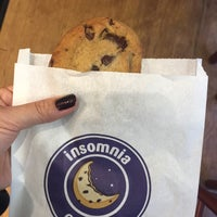 Photo taken at Insomnia Cookies by Rose K. on 10/24/2016