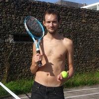 Photo taken at Tennis Court @ Vale Do Navio Hotel by Alexander P. on 11/11/2012