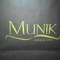 Photo taken at Munik Chocolates by Cristina L. on 10/23/2012