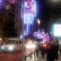 Photo taken at Abdi İpekçi Caddesi by Gurkan C. on 12/25/2012