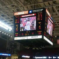 Photo taken at TTU - United Supermarkets Arena by Eric C. on 12/23/2012