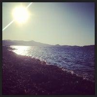 Photo taken at Spiaggia Bagnaia by Federica F. on 8/10/2013