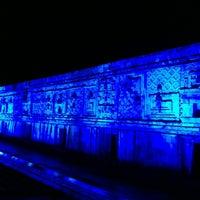 Foto tomada en Zona Arqueológica de Uxmal por Gladys G. el 7/11/2013