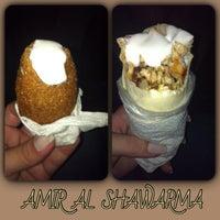 Photo taken at Amir al Shawarma by Michelle O. on 1/13/2014
