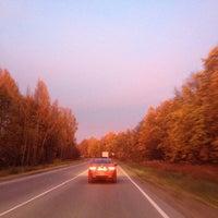Photo taken at 29 Км by Вера Ч. on 10/12/2013