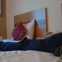 Photo taken at Jurys Inn Brighton by Chinelo N. on 5/26/2013